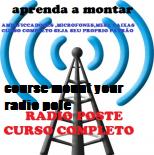Montar rádio am fm ou web radio poste monte a sua