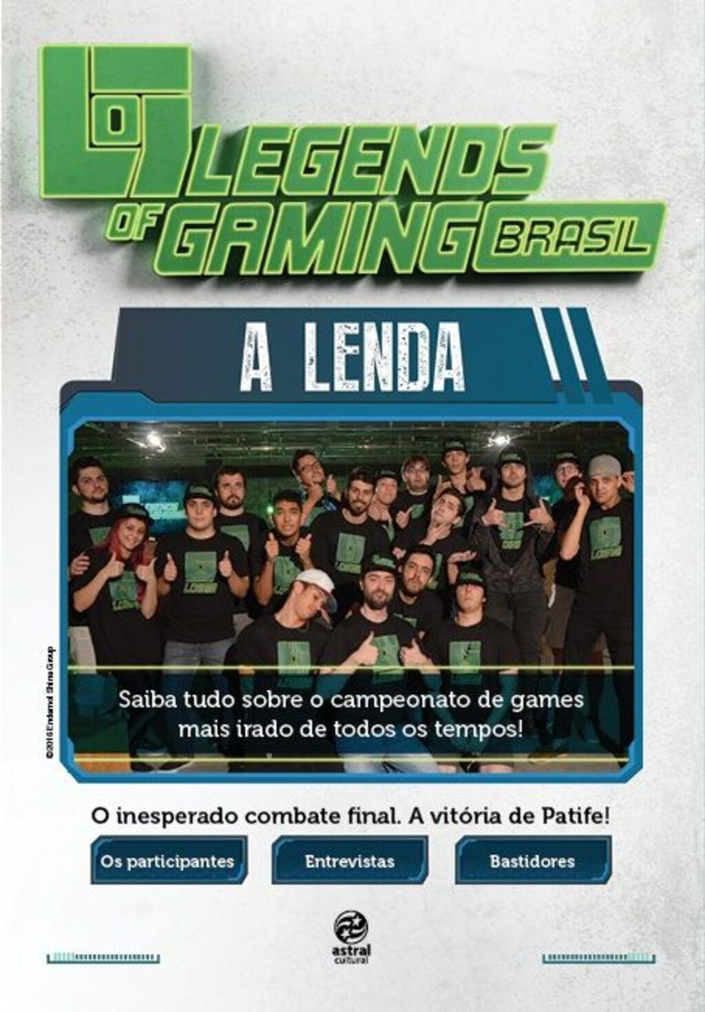 Legends of gaming Brasil - A lenda