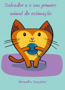 Salvador e o seu primeiro animal de estimação